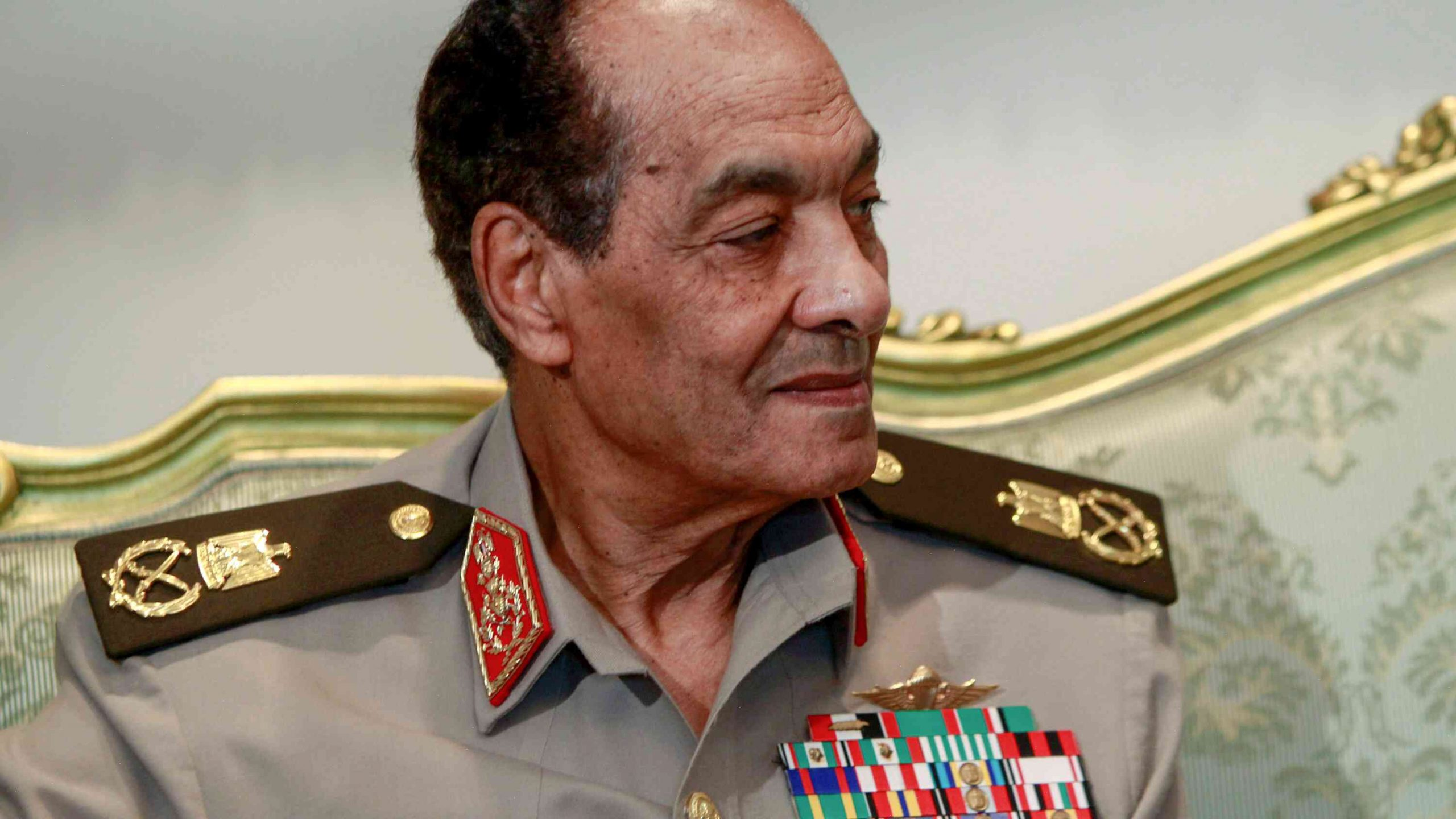 Egypt's former military ruler, who tried to keep order after the 2011 revolution, dies